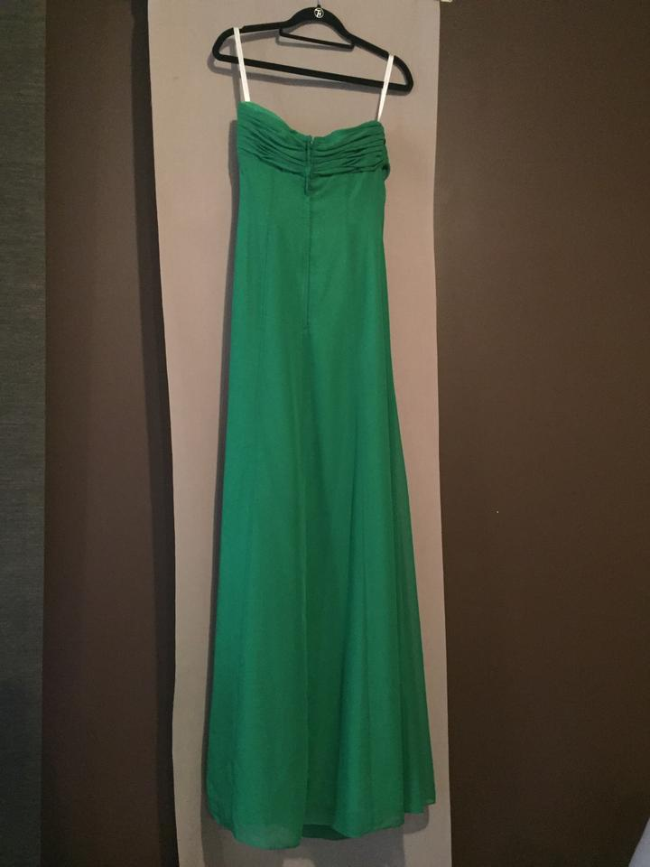 Forever Yours Green Us710215 Long Formal Dress Size 6 S Tradesy