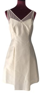 Ralph Lauren Chic Evening Wedding Lace Trim Sleeveless Dress