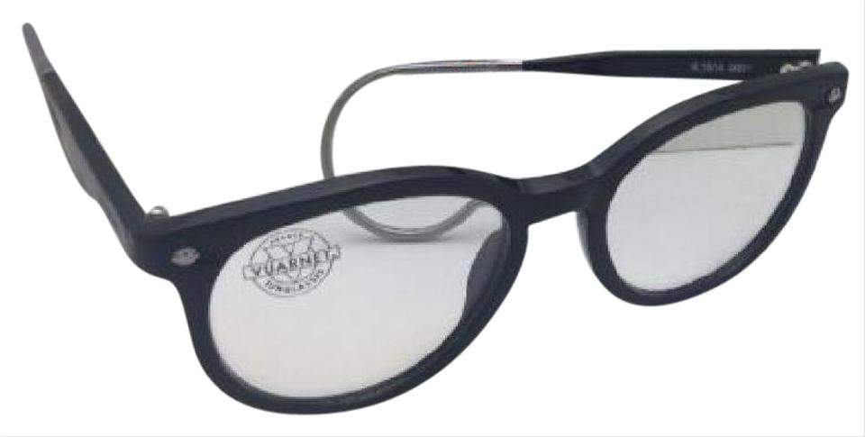 Vuarnet New Vl 1514 0001 Classic Round Black Frame W/Cable Temples W ...