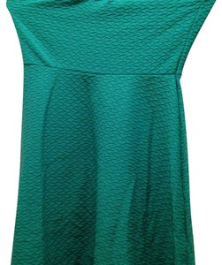Divided by H&M short dress green on Tradesy