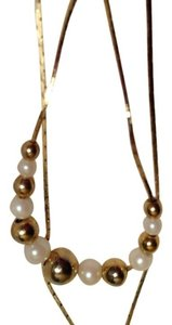 23 in. Gold-filled Box-chain with 14 Beads