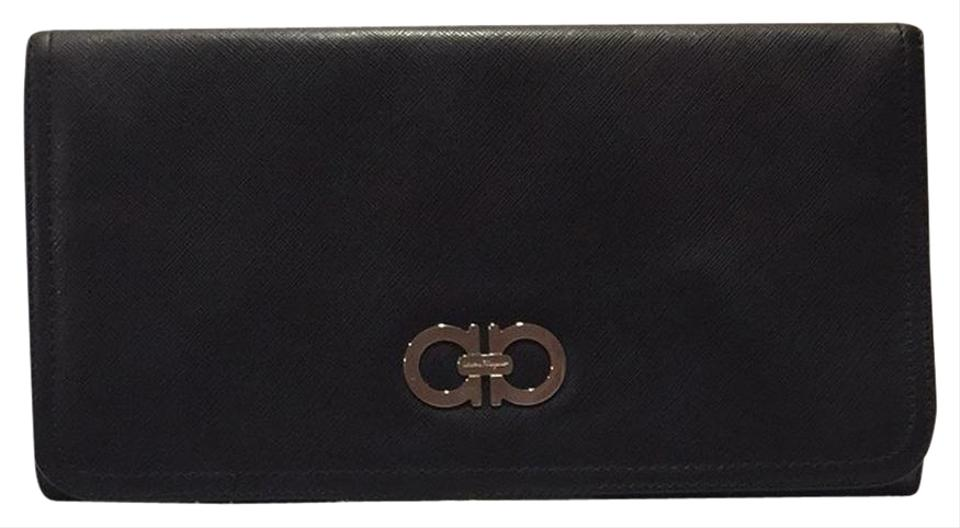 f7997596563000 Salvatore Ferragamo Na Black Leather Clutch - Tradesy
