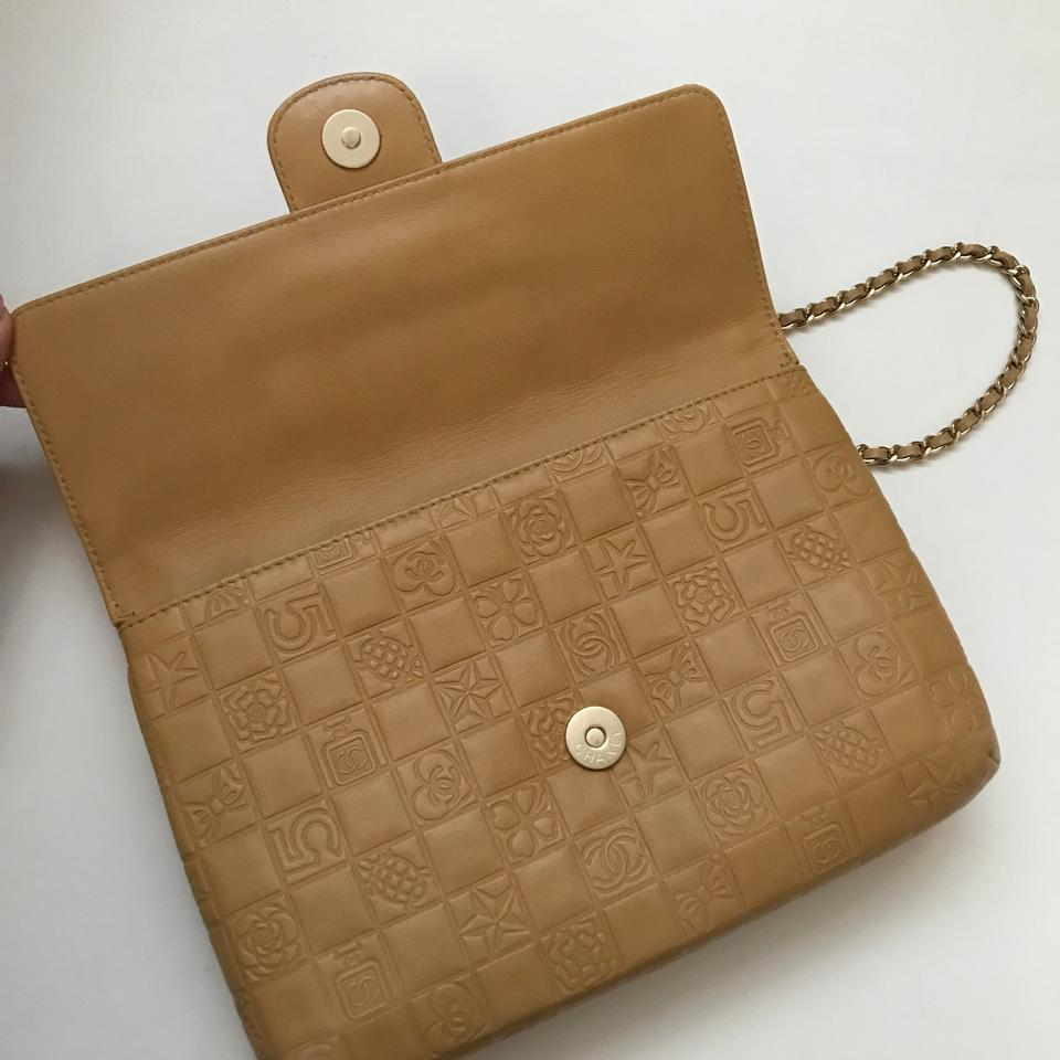 6e74a9abf5c3 Chanel Classic Double Flap Charms Caramel Shoulder Bag Image 11.  123456789101112