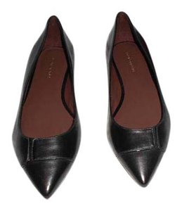 Bruno Magli Made In Italy Black Flats