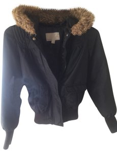 Old Navy Faux Fur Bomber Cozy Warm Coat