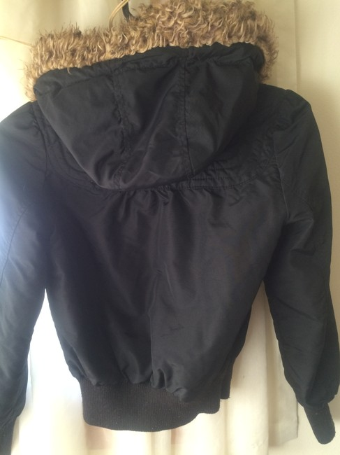 Old Navy Faux Fur Bomber Cozy Warm Winter Coat