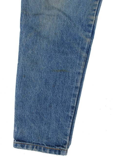 Guess Vintage High Rise Redone Re/Done Skinny Jeans-Acid Image 6