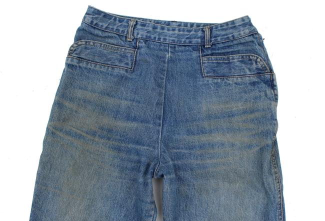 Guess Vintage High Rise Redone Re/Done Skinny Jeans-Acid Image 7