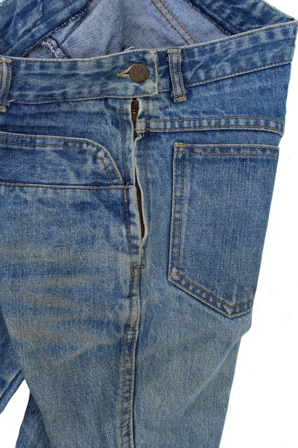 Guess Vintage High Rise Redone Re/Done Skinny Jeans-Acid Image 9