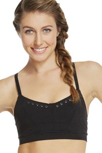 Fabletics FABLETICS Cope II Sports Bra Size XS Black With Studs