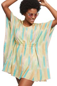 Anthropologie Kaftan Kimono Resort Swim Cover Beach Dress Tunic