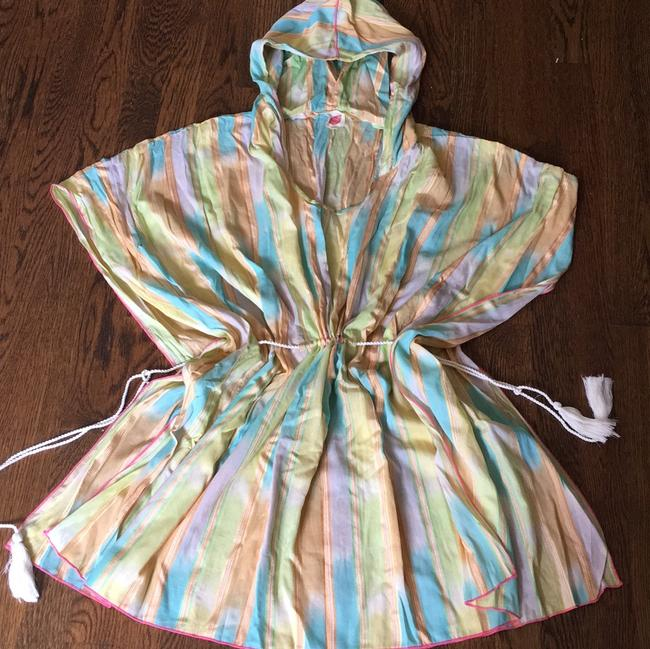 Anthropologie Kaftan Kimono Resort Swim Cover Beach Dress Tunic Image 4