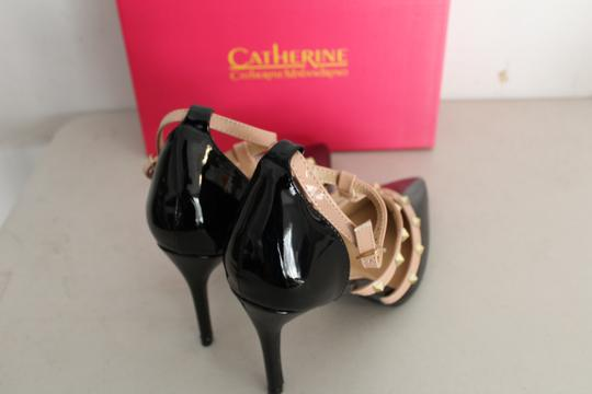 Catherine Malandrino black nude Pumps Image 2