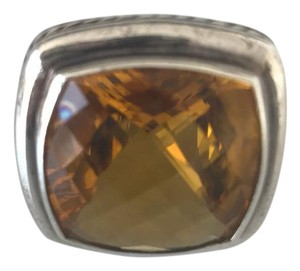 David Yurman Citrine Albion 17mm Ring