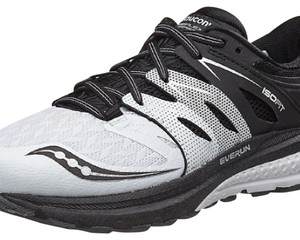 Saucony White and Black Athletic