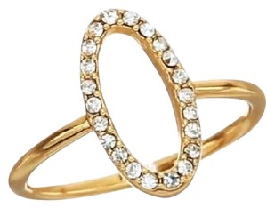 Rebecca Minkoff Oval Pave Ring