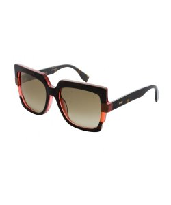 Fendi New Fendi Oversized Sunglasses 0062/S 0mtv Cc