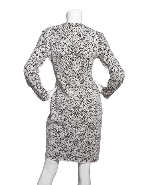 ALAA Leopard Fit And Flare Long Sleeve Dress Image 2
