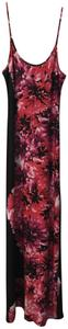 Red/black/floral Maxi Dress by JBS Limited