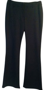 Chico's Size 1 Regular Rayon Trouser Pants Black