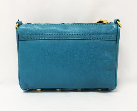 Rebecca Minkoff Mini Mac Leather Clutch Cross Body Bag Image 10