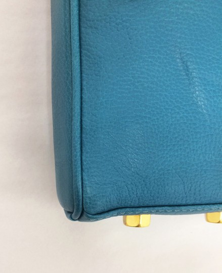 Rebecca Minkoff Mini Mac Leather Clutch Cross Body Bag Image 8