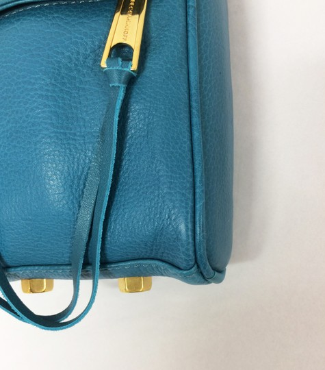 Rebecca Minkoff Mini Mac Leather Clutch Cross Body Bag Image 9