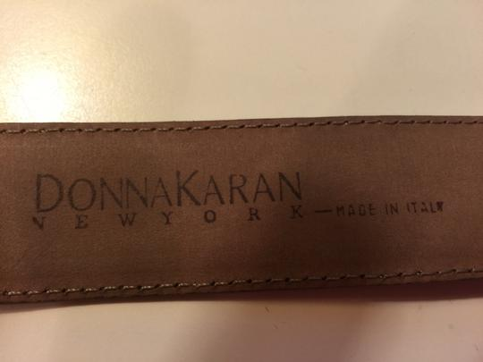 Donna Karan Donna Karan soft, wheat suede belt 35