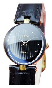 Rado Ladies RADO FLORENCE 18KGP/St.Steel Cut Glass Quartz