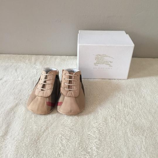 Burberry Kids Tan Athletic Image 1