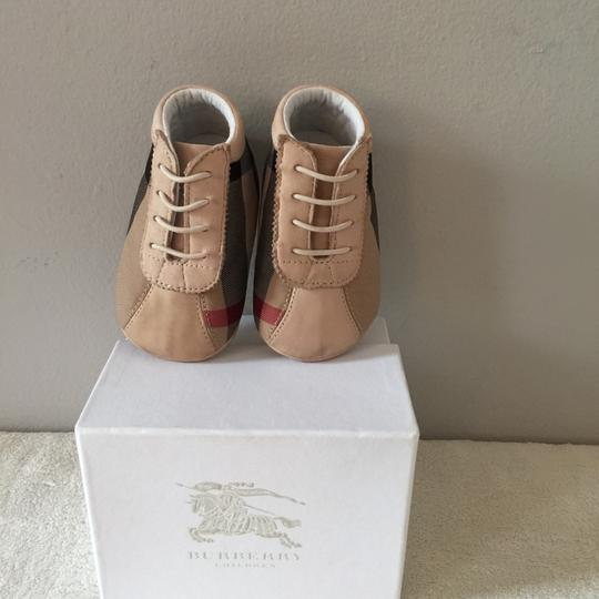 Burberry Kids Tan Athletic Image 3