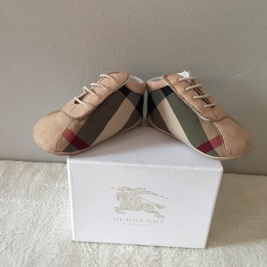 Burberry Kids Tan Athletic Image 5