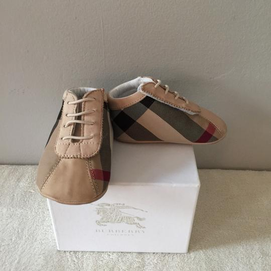Burberry Kids Tan Athletic Image 6