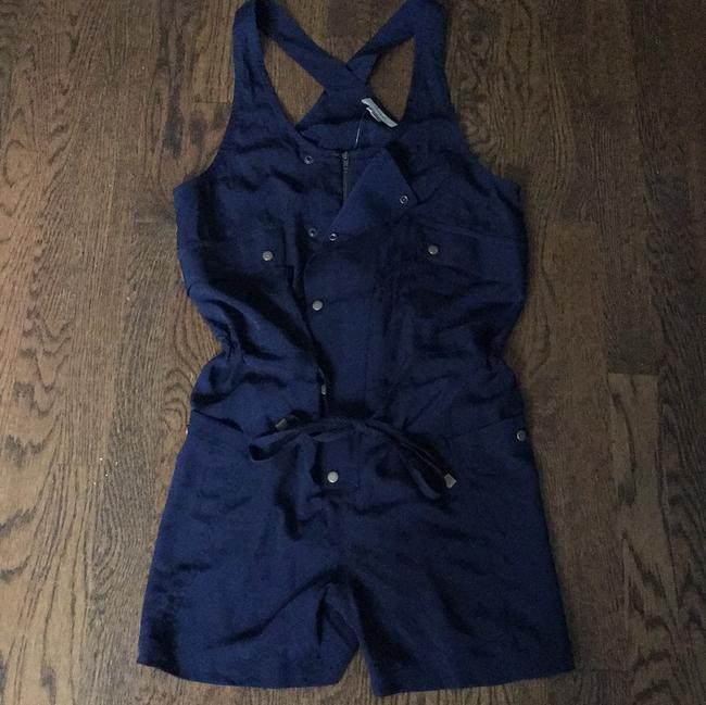 Anthropologie Overalls Playsuit Nautical 90's Cute Dress Image 3