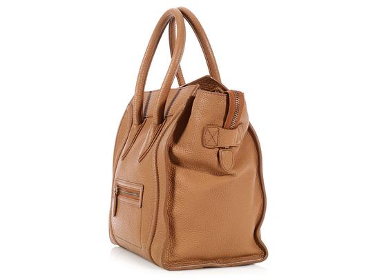 Céline Ce.l0609.17 Handle Gold Tote in Brown Image 2