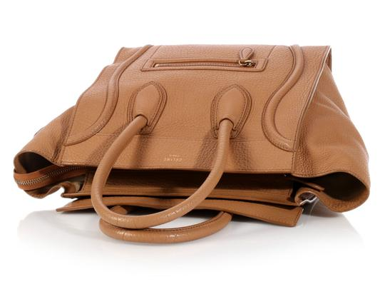 Céline Ce.l0609.17 Handle Gold Tote in Brown Image 6