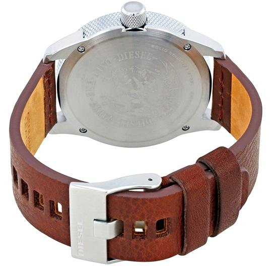 Diesel Silver Tone Silver Dial Men's Casual Watch Style Image 2