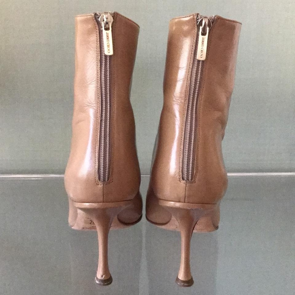 Choo Boots Jimmy Choo Jimmy Tan Booties 0Ex6S