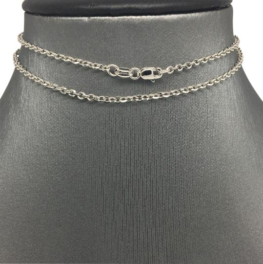 Preload https://img-static.tradesy.com/item/21853255/18k-white-gold-cable-chain-16-inches-necklace-0-1-540-540.jpg