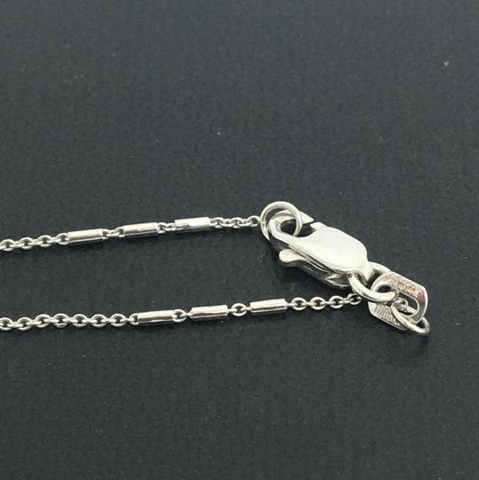 other 14K White Gold Mix Style Chain 20 Inches Image 2
