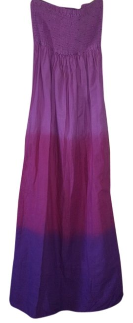 pink purple multi Maxi Dress by Romeo & Juliet Couture