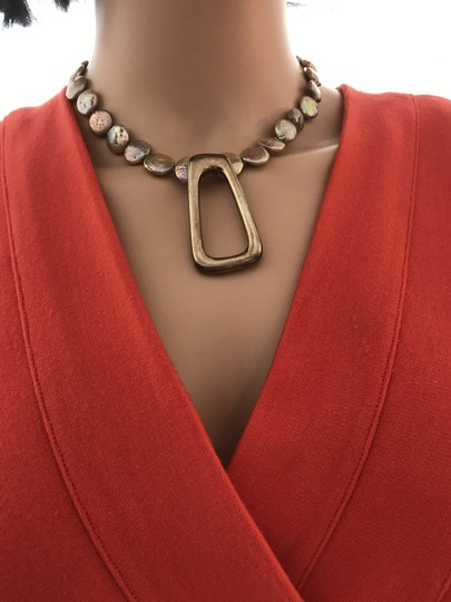 other Gold coin pearl necklace Image 10