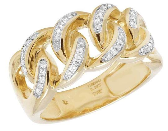 Preload https://img-static.tradesy.com/item/21853471/jewelry-unlimited-yellow-gold-mens-10k-diamond-miami-cuban-fashion-band-23-ct-11mm-ring-0-0-540-540.jpg