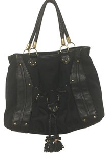 Steven by Steve Madden Canvas Tote in Black