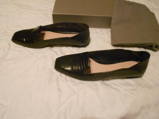 Alexander McQueen Soft/Supple Comfortable Made In Italy Black Flats Image 1