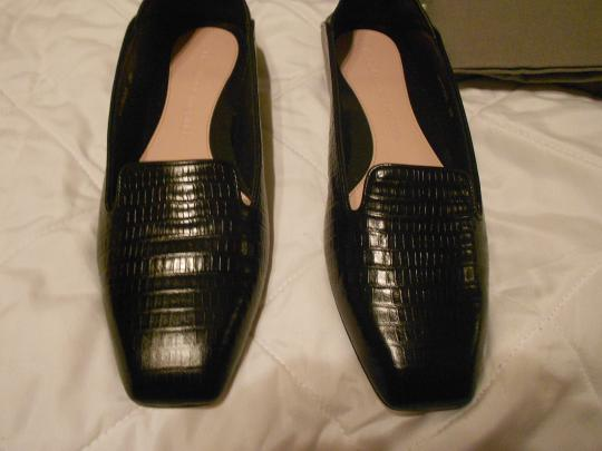 Alexander McQueen Soft/Supple Comfortable Made In Italy Black Flats Image 2