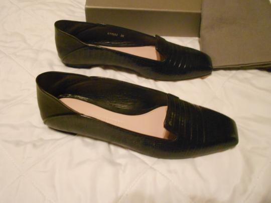 Alexander McQueen Soft/Supple Comfortable Made In Italy Black Flats Image 3