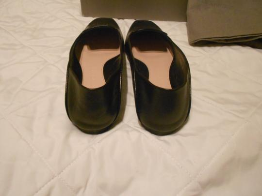 Alexander McQueen Soft/Supple Comfortable Made In Italy Black Flats Image 4