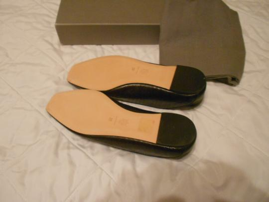 Alexander McQueen Soft/Supple Comfortable Made In Italy Black Flats Image 5