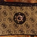 Guess By Marciano Studded Wristlet in monogram Image 1
